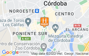 Отель AC Hotel Cordoba Palacio by Marriott 5* на карте мира