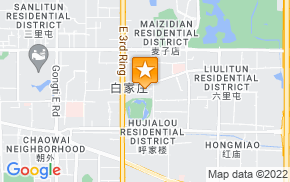 Отель 7 Days Inn Beijing Tuanjiehu Subway Station на карте мира