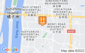 Отель Today Inn Changsha Pedestrian Street 3* на карте мира