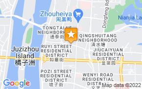 Отель 100 Inn Wuyi Square Walking Street Branch на карте мира