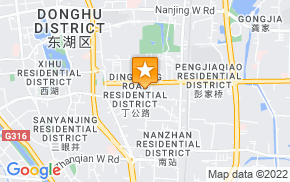 Отель 99 Business Hotel Ding Road Nanchang на карте мира