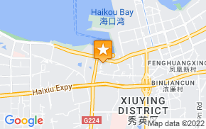 Отель Xiuying Xihong Hotel на карте мира