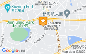 Отель 7 Days Inn Haikou Jin Niu Lin Park Branch на карте мира