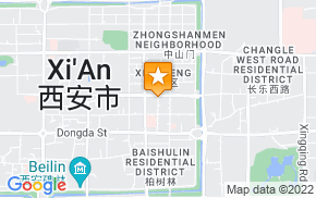 Отель 7 Days Inn Xian Dong Da Jie Branch на карте мира