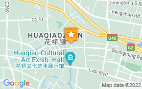 Отель 7days Inn Kunshan Huaqiao Metro Station на карте мира