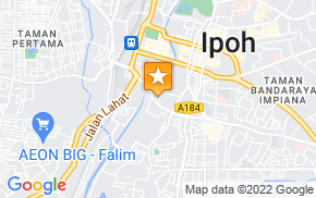 Отель M Boutique Hotel Ipoh на карте мира