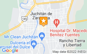 Отель Hotel Central Juchitan de Zaragoza на карте мира