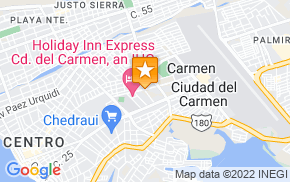 Отель City Junior Ciudad del Carmen на карте мира