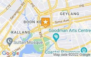 Отель Homestay in Geylang near Aljunied MRT Station на карте мира