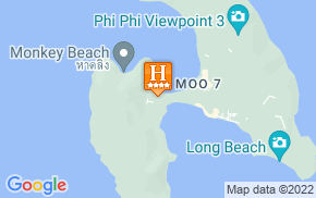 Отель Phi Phi Princess Resort Susp 4* на карте мира
