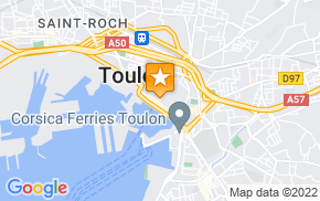 Отель Chicag Hostel Toulon на карте мира