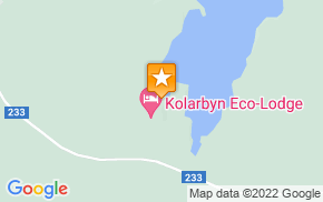 Отель STF Kolarbyn Eco-Lodge на карте мира
