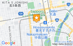 Отель International Hostel Khaosan Sapporo на карте мира