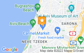 Отель Pink TLV - Tel aviv Gay Townhouse на карте мира