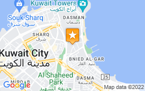 Отель Adams Hotel Kuwait City на карте мира