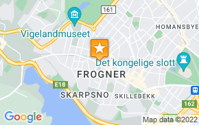 Отель Frogner House Apartments - Bygdøy Allé 53 на карте мира