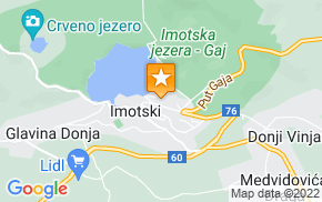 Отель Imotski Dinka Stambaka Holiday Home на карте мира