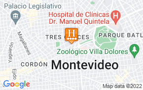 Отель Days Inn Montevideo 4* на карте мира