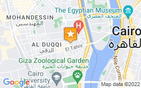 Отель Apartment Dokki-Cairo на карте мира