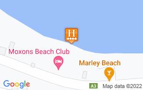 Отель Moxons Beach Club 4* на карте мира