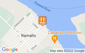 Отель Howard Johnson Hotel Ramallo 4* на карте мира