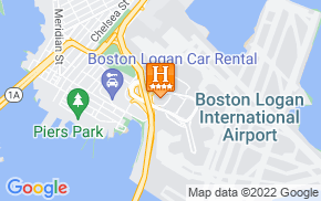Отель Hilton Boston Logan Airport 4* на карте мира