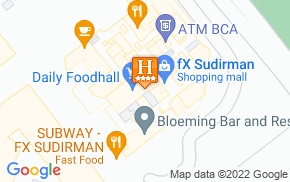 Отель Harris Suites fX Sudirman 4* на карте мира