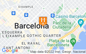 Отель Apartment Centric Stay Barcelona 1* на карте мира