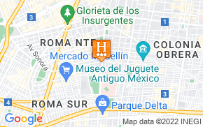 Отель Benidorm Hotel Mexico City 3* на карте мира