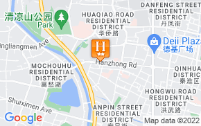 Отель City Inn Xinjiekou Nanjing 2* на карте мира