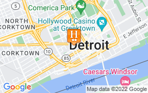 Отель Holiday Inn Express Detroit - Downtown 2* на карте мира