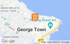Отель Tune Hotels Downtown Penang 3* на карте мира