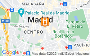 Отель Six Rooms Apartments Madrid 3* на карте мира