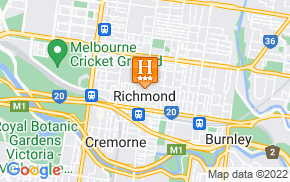 Отель Richmond Hill Hotel Melbourne 3* на карте мира