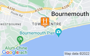 Отель Fairmount Hotel Bournemouth 3* на карте мира