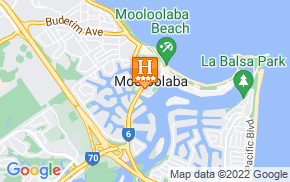 Отель Central Motel Mooloolaba 4* на карте мира
