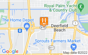 Отель La Quinta Inn Deerfield Beach 2* на карте мира