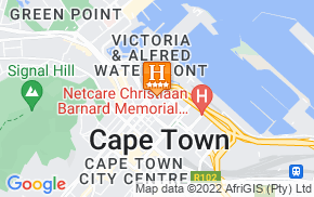 Отель Southern Sun Waterfront Cape Town 4* на карте мира