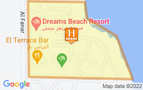 Отель Dreams Beach Resort Sharm 5* на карте мира