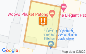 Отель The Kris Hotel & Spa Patong Phuket 3* на карте мира