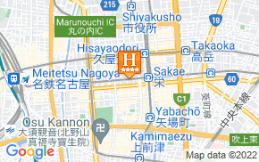 Отель International Hotel Nagoya 4* на карте мира