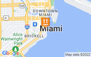 Отель Miami Brickell Bay Apartments 3* на карте мира