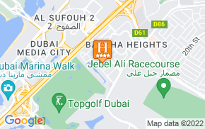 Отель Dubai Apartments - The Greens - Al Dhafrah The Greens 4* на карте мира