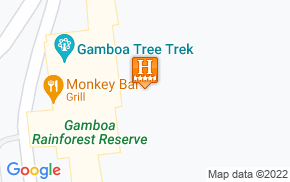 Отель Gamboa Rainforest Resort 5* на карте мира