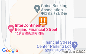 Отель InterContinental Financial Street Beijing 5* на карте мира