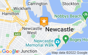 Отель CBD Hotel Newcastle на карте мира