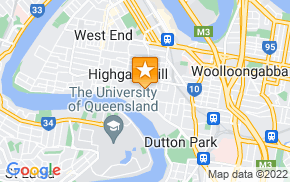 Отель Homestay in Highgate Hill near Brisbane River на карте мира
