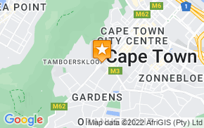Отель Cape Town Backpackers на карте мира