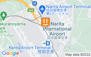 Отель nine hours Narita Airport 3* на карте мира