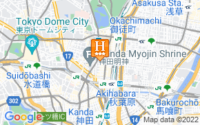 Отель 1/3rd Residence Serviced Apartments Akihabara 3* на карте мира
